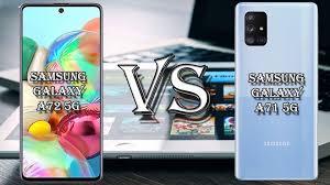 SAMSUNG GALAXY A72 5G VS SAMSUNG GALAXY ...