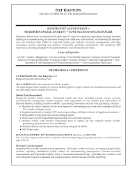 Cost Accountant Resume Sample Cost Accountant Resume Sample Manufacturing Shalomhouseus 5