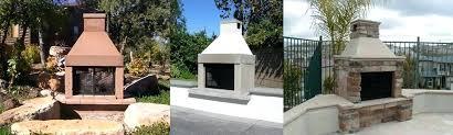 prefab outdoor fireplace kit rtf modular