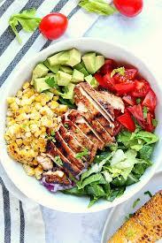 grilled en salad recipe crunchy