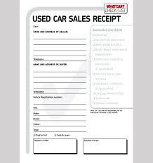 sale receipt template free car sale receipt template
