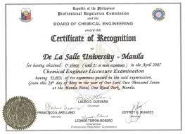 Awards and Achievements - De La Salle University - Manila