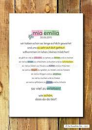 Gastgeschenke Druckprint Süße Geschenkidee Zur Geburttaufe