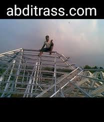 Hasil gambar untuk tukang baja ringan abditrass.com