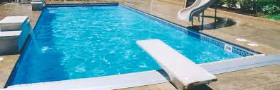inground pools with diving board and slide. In-Ground Pool Fun And Features Inground Pools With Diving Board Slide D