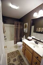brown bathroom decor ideas wall colors