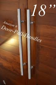 modern door pulls. Get Quotations · 18 Inches Door Pull Handle Contemporary Modern 304 Stainless Steel Brushed Satin Long Back To Pulls L