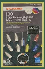 Sylvania Christmas Lights 3 Function Color Changing 4 Sets Sylvania Christmas Lights 3 Function Color Changing Led Mini Lights 100