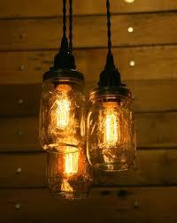 mason jar lighting ideas. mason jar chandelier light lighting ideas