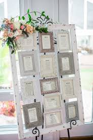 Wedding Seating Chart Frame Vintage Picture Frame Seating Chart