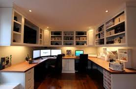 Inspiring Home Office Decorating Ideas Without The Window Design No Windows