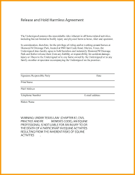 Hold Harmless Agreement Form Lovely Beautiful Printable Sample ...
