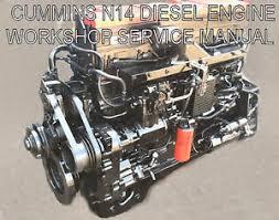 cummins n14 diesel engine workshop service manual celect and image is loading cummins n14 diesel engine workshop service manual celect