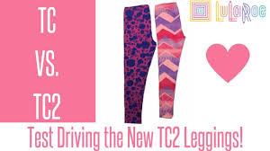 Tc Lularoe Size Chart Lularoe Tc2 Leggings Comparison To Tc Plus Size Fit