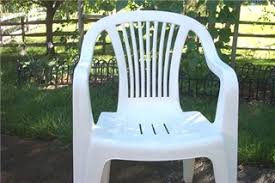 plastic patio furniture. This Is My 8th Year To Use 5 Chairs And A Table Which Are Of White Resin. By Year, They Had Gotten More Discolored Mottled. Plastic Patio Furniture