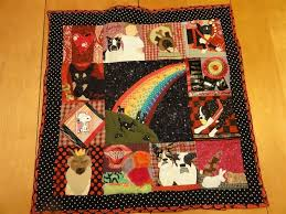 Hand Crafted Pet Memorial Quilt (Multiple Animal)- Large Beloved ... & Custom Made Pet Memorial Quilt (Multiple Animal)- Large Beloved Buddy Quilt Adamdwight.com