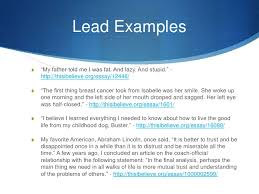 this i believe lead ldquothis i believerdquo essays<br > 3