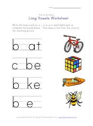 We usually say the short vowel sounds, with rules to moderate. Long Vowel Matching Worksheet E I O And U All Kids Network