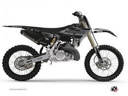 yamaha 125cc dirt bike. kit deco dirt bike black matte yamaha 125 yz rtech revolution 125cc t
