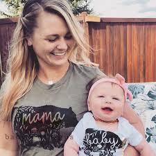 Mama Bear Papa Bear Baby Bear Shirts Mommy and Me Matching   Etsy