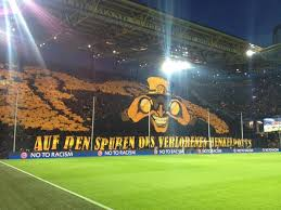 Dortmund supporters pull off another amazing tifo! Pokalsieger 2021 On Twitter Thank You And Good Night Bvbmcf Choreo Yellowwall Http T Co A9zc8bkgtv