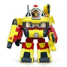 <b>Трансформер Silverlit</b> Рой 10см + <b>костюм</b> супер пожарного 83314 ...