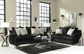 collection black couch living room ideas pictures. Heflin Black Fabric Sofa And Loveseat Set Collection Couch Living Room Ideas Pictures O