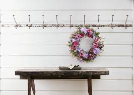 the best places to hang wreaths at home