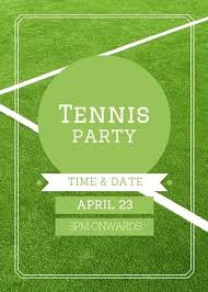 Football Party Invitations Templates Free Football Party Invitations Templates Free Green Lawn Tennis Party