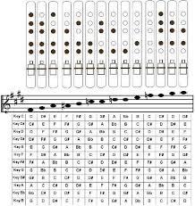 Flute Tuning Chart 5 Hole Pentatonic Flute Chart In 2019 Native Flute Native