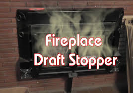 Fireplace Draft Stopper - Cheap DIY - YouTube