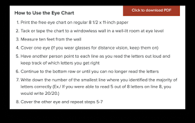 Free Online Eye Test Chart Project Vision Accessible Vision Test At Home Ux Collective