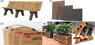 wood plastic composites pp pe and pvc