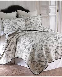 Amazon.com: Black Toile Full/Queen Cotton Quilt Set Black, White ... & Amazon.com: Black Toile Full/Queen Cotton Quilt Set Black, White: Home &  Kitchen Adamdwight.com
