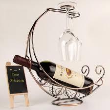 onnpnnq creative fashion metal wine rack hanging wine glass holder pirate ship shape bar wine holder hot ing uk 2019 from sunnysleepvip6