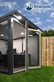 office garden pod. For More Information About How You Can Have Your Own Aliwoods Garden Office Pod Call Us Today On 01376 510320 L