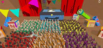 physics-based crowd-control game ...