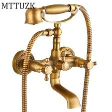 bathtub faucet with handheld shower contemporary inspired tub