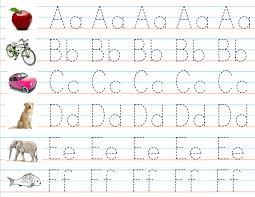 alphabet practice paper writing practice abc google search educationstudees