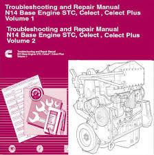 details about cummins n14 2010 stc celect celect plus shop cummins n14 2010 stc celect celect plus shop service manual engine repair cd