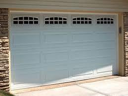 overhead garage doorOverhead Garage Doors Raised Panel Craftsman Stamped Steel