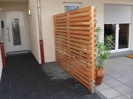 Sichtschutz Holz Modern M Belideen