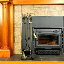 fireplace tool set tractor supply brass duck head modern