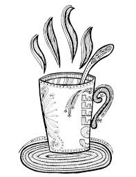 coffee coloring page. Modren Page If You Love Coffee And Adult Colouring Youu0027ll Want To Grab Intended Coffee Coloring Page E