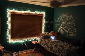 Creativity Bedroom Ideas Tumblr Christmas Lights In Room Decoration Intended Modern