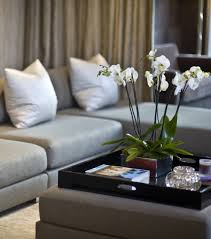 Decorating With Trays On Coffee Tables Decorating Classic Home Updates Ottomans Coffee Table Tray And In 4