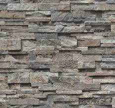 Brick Effect Wallpaper Vinyl 3D Slate ...