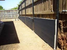 how to build retaining wall combined