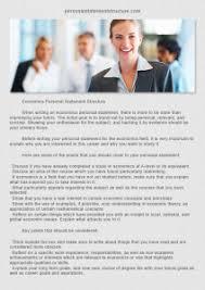 how to create correct economics personal statement structure  economics personal statement structure