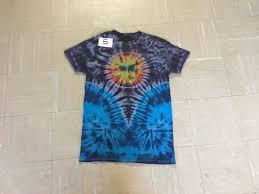 Tie Dye Shirt Swirl Design Small Space Tie Dye With Sun V And Twin Swirl Design 15